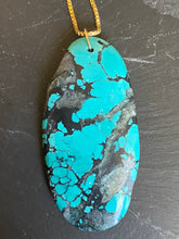 Load image into Gallery viewer, Simon & Lulu Oval Turquoise Necklace