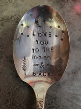 Load image into Gallery viewer, Love You To The Moon & Back Teaspoon