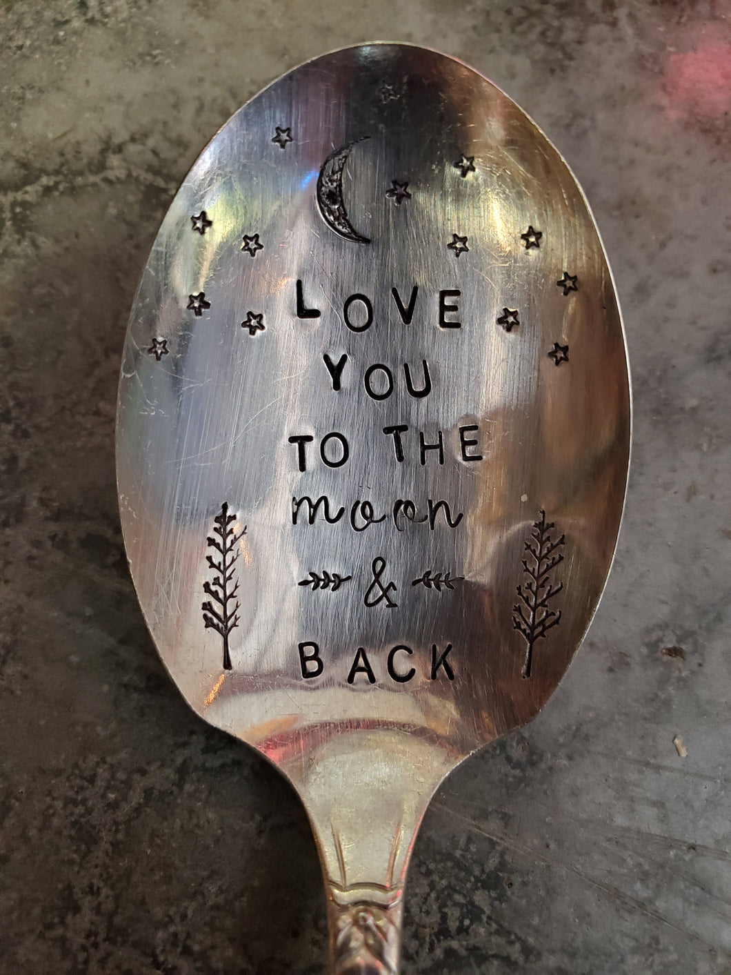 Love You To The Moon & Back Teaspoon