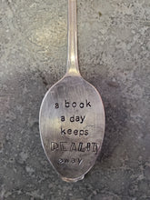 Load image into Gallery viewer, A Book A Day Teaspoon Bookmark