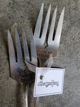 Load image into Gallery viewer, Comfort Food Stamped Serving Fork