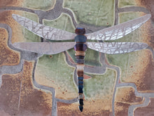 Load image into Gallery viewer, Running Rock Art Steel Dragonfly (Large)