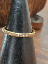 Load image into Gallery viewer, Adel Chefridi 18K Yellow Gold Diamond Band