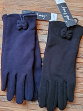 Load image into Gallery viewer, Bow Fleece Gloves