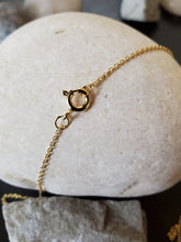 Load image into Gallery viewer, April Birthstone Gold-Filled Necklace (Diamond)