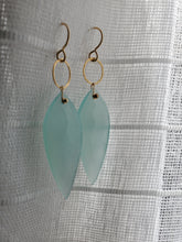 Load image into Gallery viewer, Simon & LuLu Teal Blue Chalcedony ER