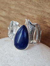 Load image into Gallery viewer, Lapis Sterling Silver Ring