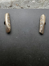 Load image into Gallery viewer, Rebecca Overmann 14K White Gold Diamond Pave Studs