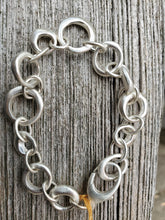 Load image into Gallery viewer, Philippa Roberts Sterling Silver Chain Link Bracelet.
