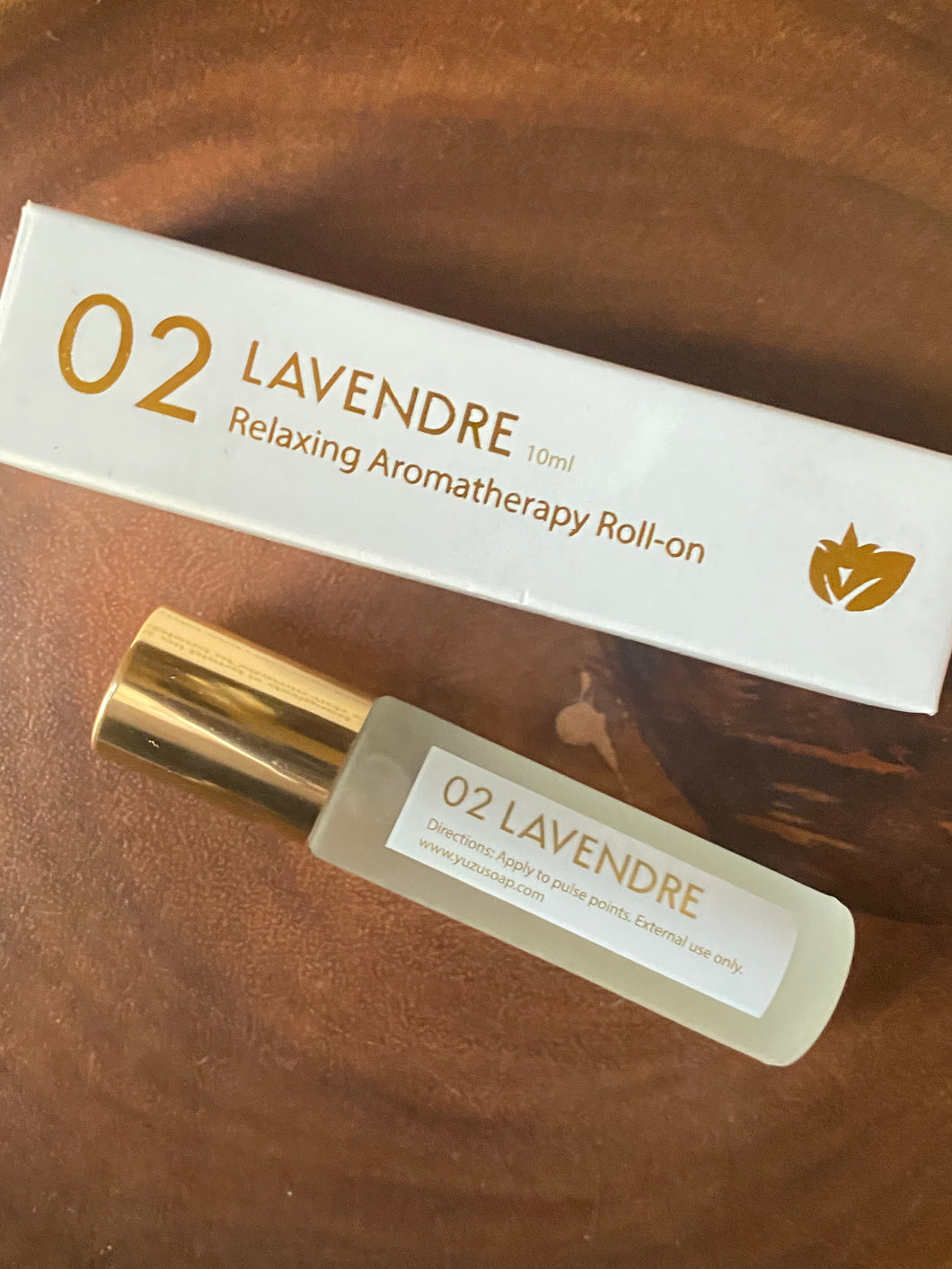 Yuzu Aromatherapy Roll-On Oils