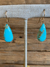 Load image into Gallery viewer, Simon & Lulu Sleeping Beauty Turquoise Drop Earrings