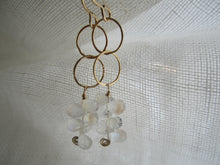 Load image into Gallery viewer, Simon & LuLu Rainbow Moonstone Gold-Filled Earrings