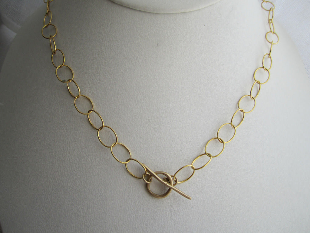 Anne Sportun Chain Toggle Necklace