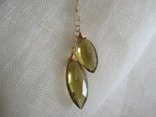 Load image into Gallery viewer, Simon & LuLu Whiskey Quartz Necklace