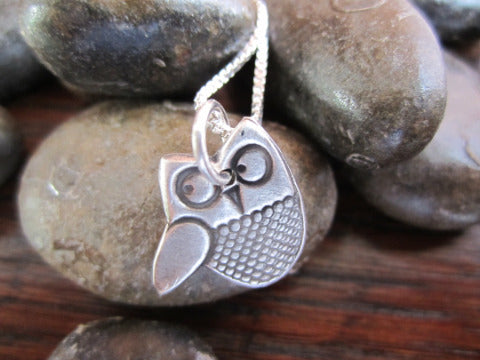 Simon & LuLu Little Owl Necklace