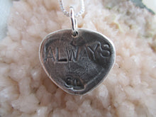 "Load image into Gallery viewer, Simon & LuLu ""Always"" Heart Necklace"