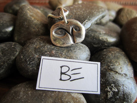 "Simon & LuLu ""BE"" Necklace"