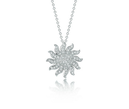 Dana David Large Sun Icon Necklace