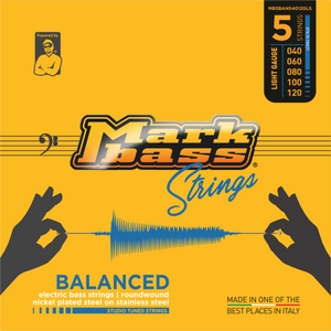 BALANCED Series - Electric bass nickel plated steel on stainless steel | STUDIO TUNED STRINGS