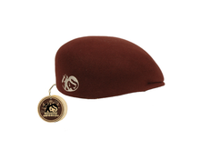 Felt MW Jazz beret - Coffee