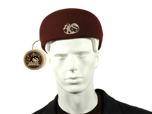 Felt MW Jazz beret - Coffee_