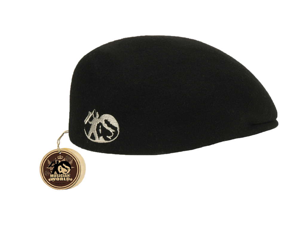 Felt MW Jazz beret - Black