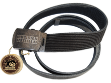 Rope belt with MW buckle - Graphite