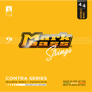 CONTRA Series - DOUBLE BASS NYLONCORE - NYLON FLAT WOUND