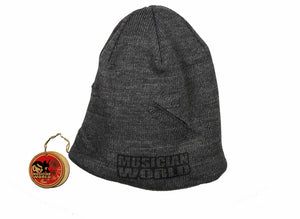 Distressed rock beanie-567
