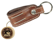 Key holder - Brown - Leather