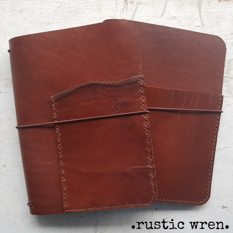 b6 leather travelers notebooks