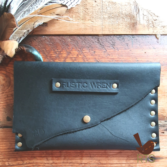 Leather Clutch || Wren Clutch