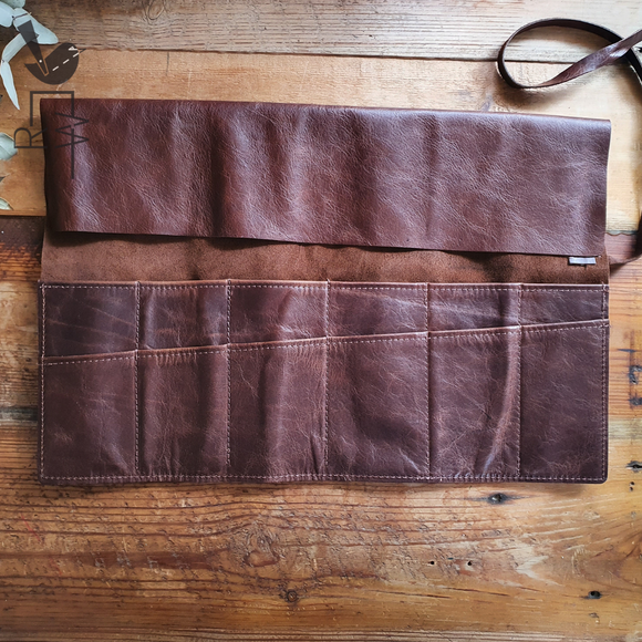 Leather Artist Roll || Large