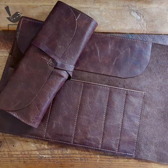 Leather Artist Roll || Medium
