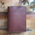 CUSTOM Leather Notebook || Folio