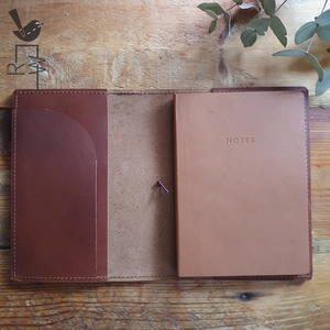 Leather Notebook || Folio (Custom)