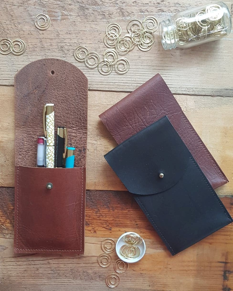 Leather Pen Pocket