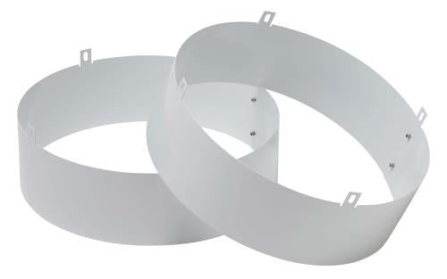 QUEST Quest Supply Air Duct Collar for Overhead Style Dehumidifier - 105, 155, 205, & 225 Only