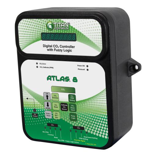 TITAN Titan Controls Atlas 8 - Digital CO2 Controller w/ Fuzzy Logic
