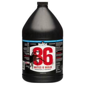 86 Mites and Mold 86 Mites and Mold 1 Gallon PRO Concentrate (Makes 51 Gallons) (1/Cs)
