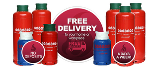 East Coast Bottled Gas Deliver Gas Cylinders in Lincolnshire