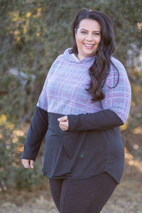 Courageous Tartan Hoodie - Onyx & Oak Boutique