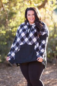 Check Me If You Can Knit Sweater - Onyx & Oak Boutique