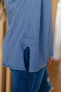 Beautiful Blue Tee - Onyx & Oak Boutique