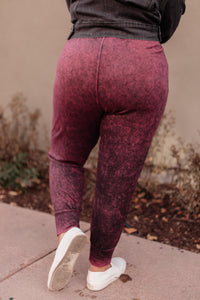 Cozy Joggers in Blackberry - Onyx & Oak Boutique