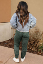 Load image into Gallery viewer, Cozy Joggers in Hunter Green - Onyx & Oak Boutique
