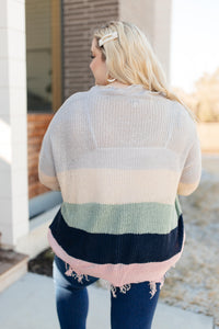 Deliah Distressed Sweater - Onyx & Oak Boutique