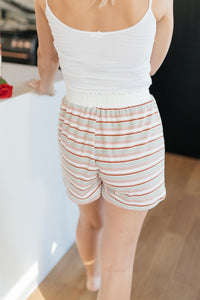 Emery Striped Shorts - Onyx & Oak Boutique