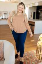 Load image into Gallery viewer, Every Girl's Favorite Basic Top in Apricot - Onyx & Oak Boutique