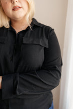 Load image into Gallery viewer, Every Girl's Go To Black Button Down - Onyx & Oak Boutique